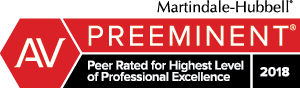 AV Preeminent Peer Rated
