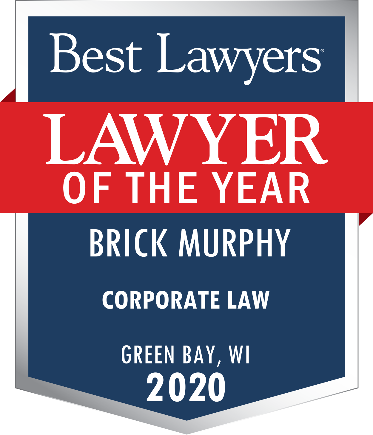 Brick Murphy Lawyer of the Year